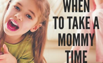When to Take a Mommy Time Out