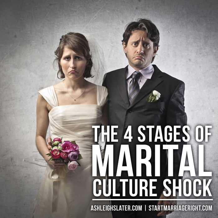 The 4 Stages of Marital Culture Shock