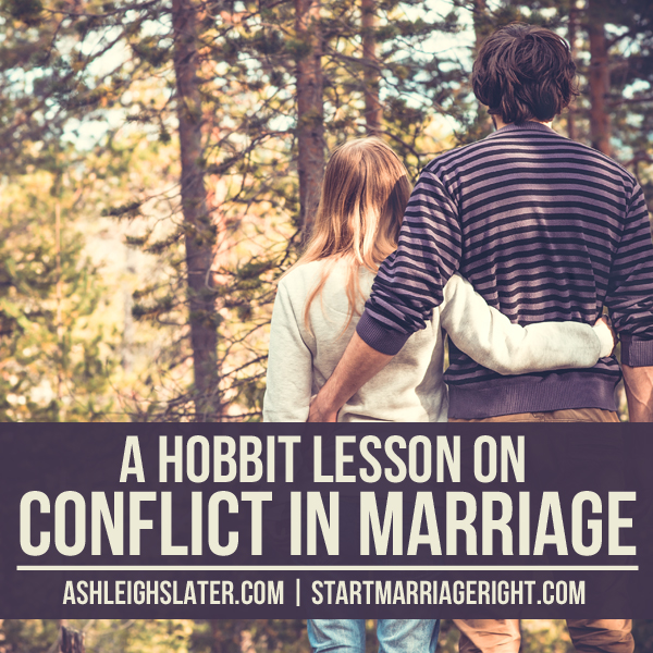 A Hobbit Lesson on Conflict in Marriage