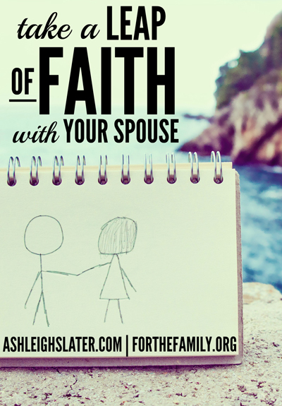 Take a Leap of Faith with Your Spouse