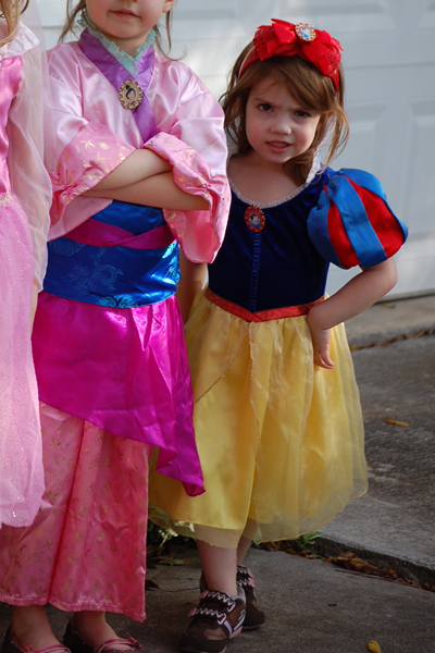The dress worn at a fall festival by Daughter #3 in 2011.